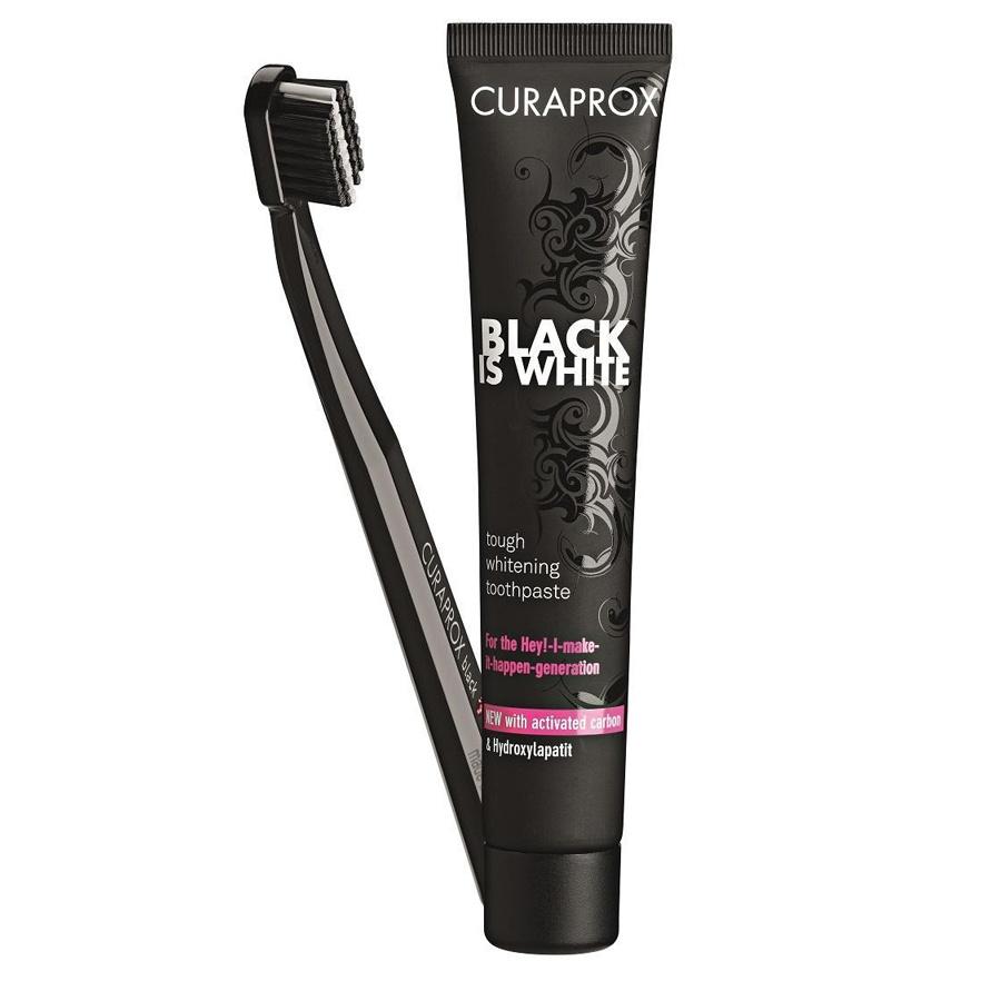 Black Is White dantų pasta
